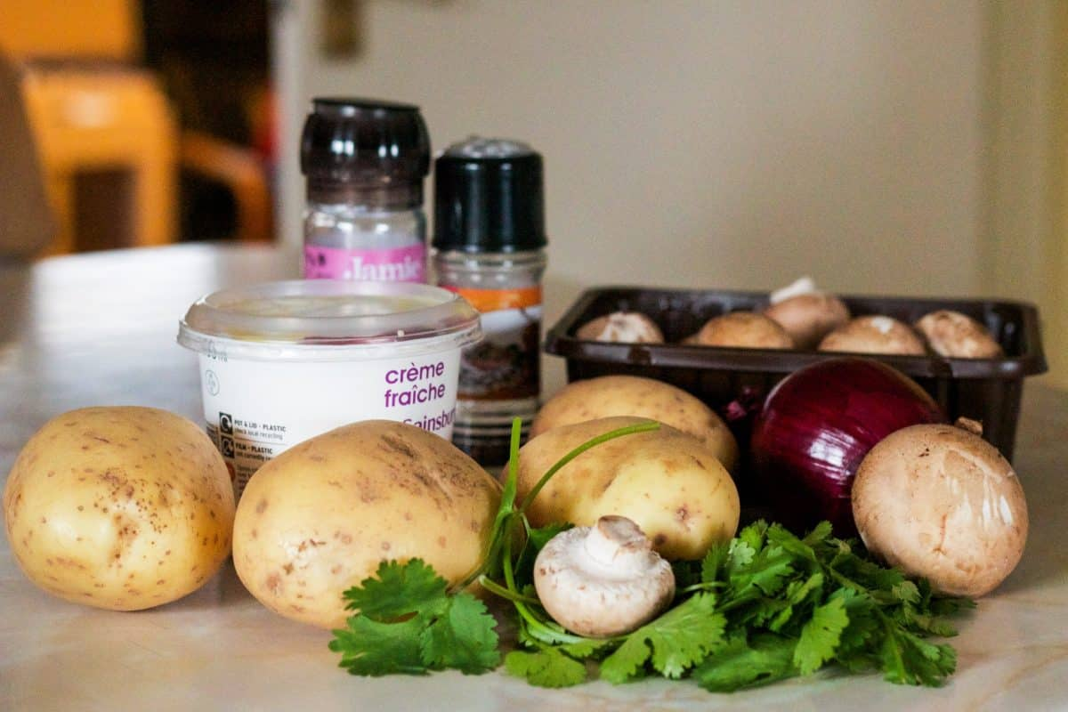 potato bake ingredients