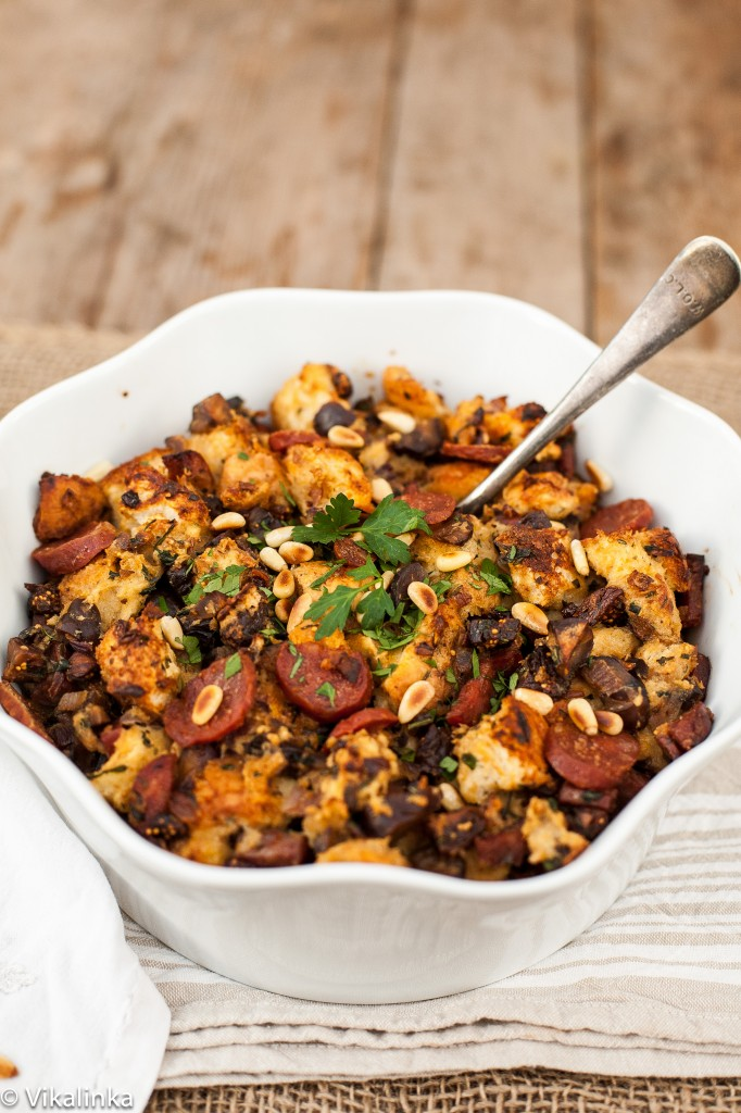 Herb, Fig and Chorizo Stuffing