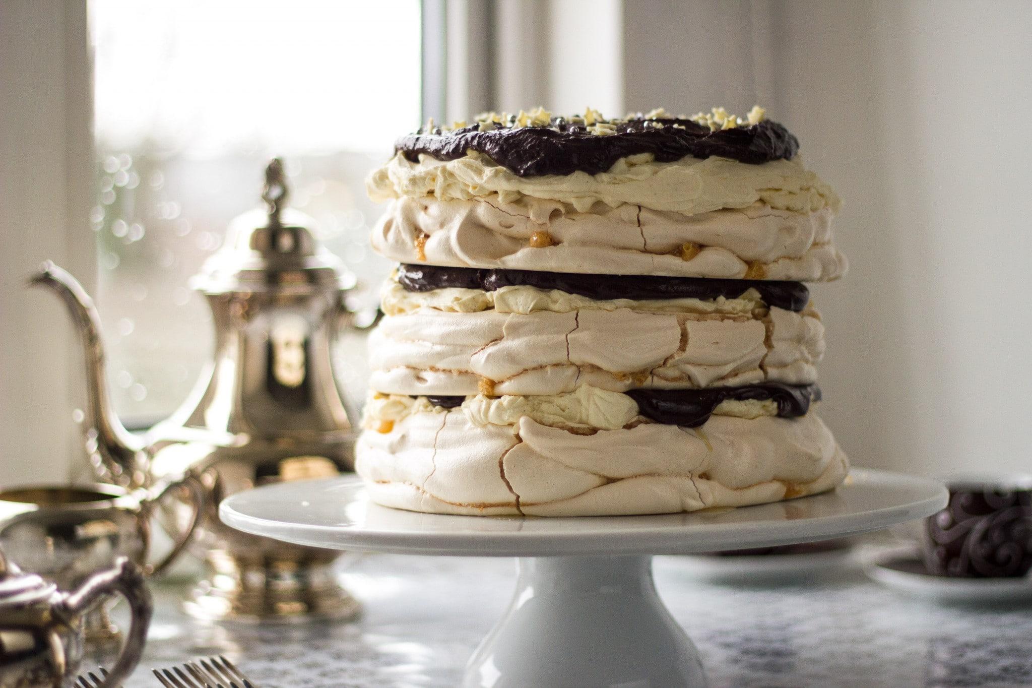 Meringue Mascarpone Cake
