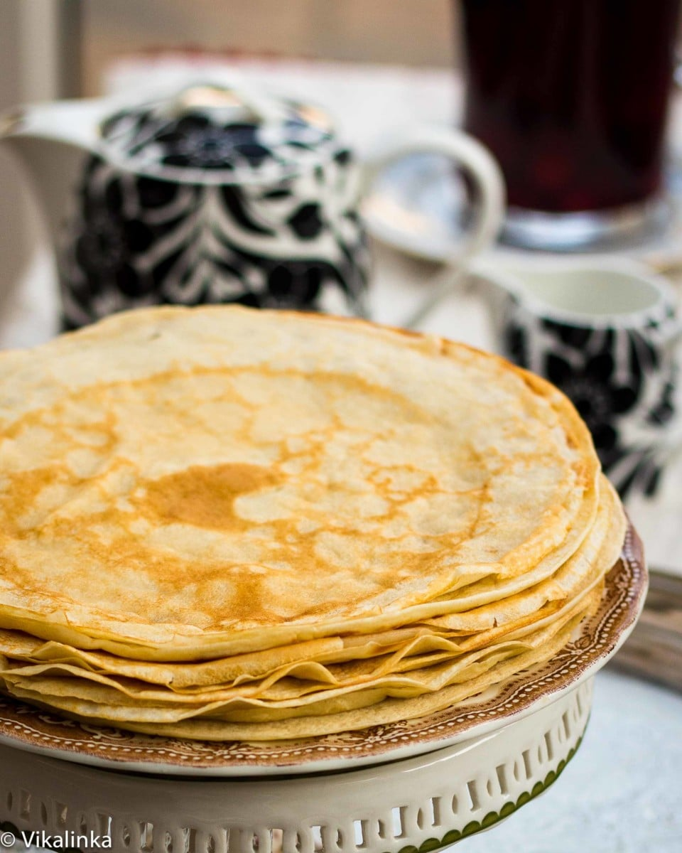 "Russian Crepes ""Blini"""