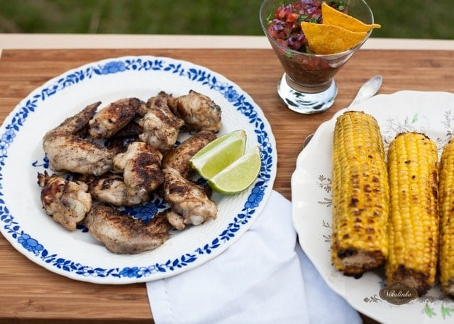 Lime Tequila Chicken Wings