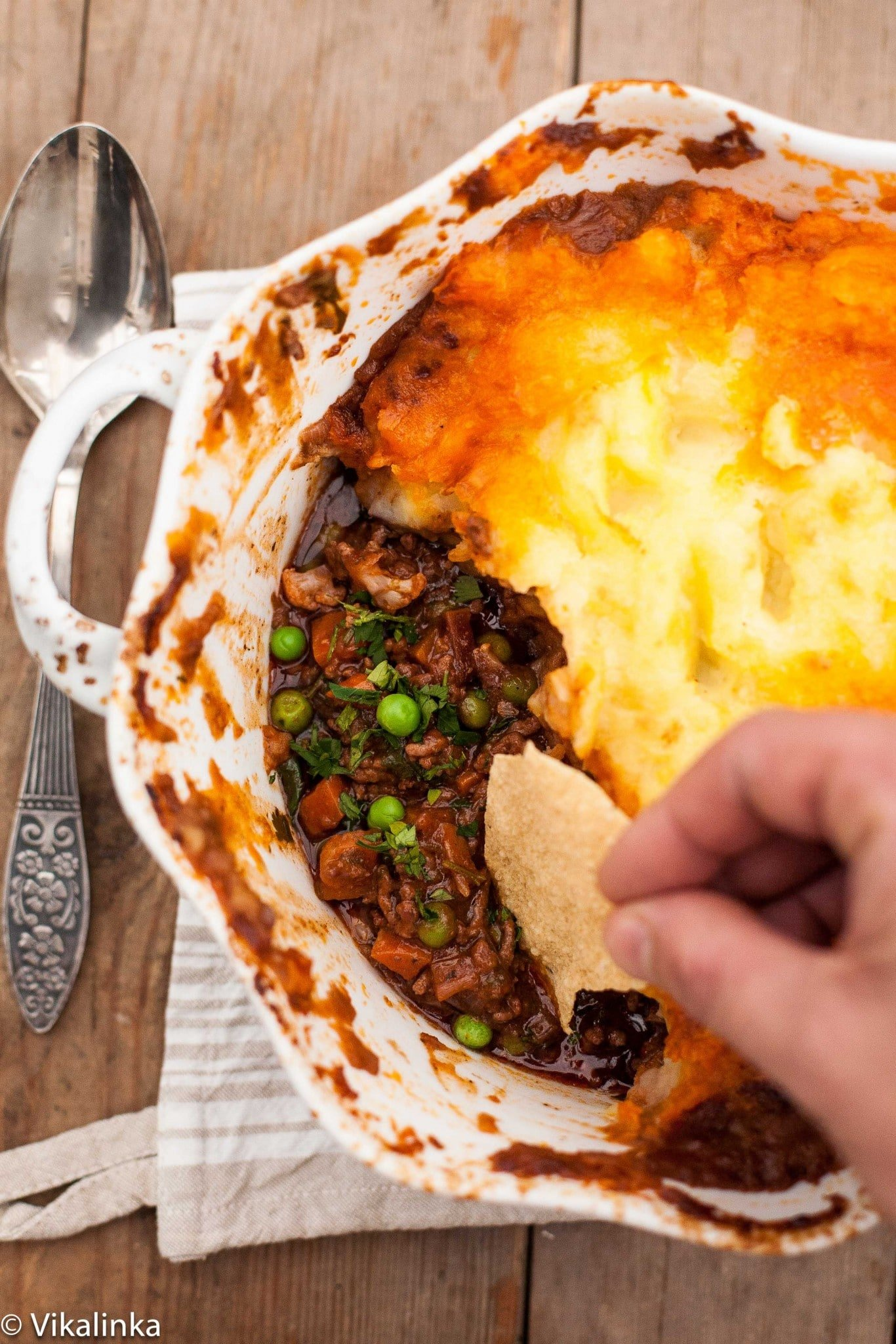 Shepherd's Pie (with a kick!)