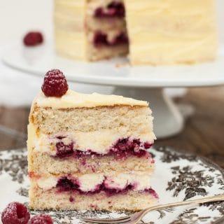 Frostbitten Raspberry Cake