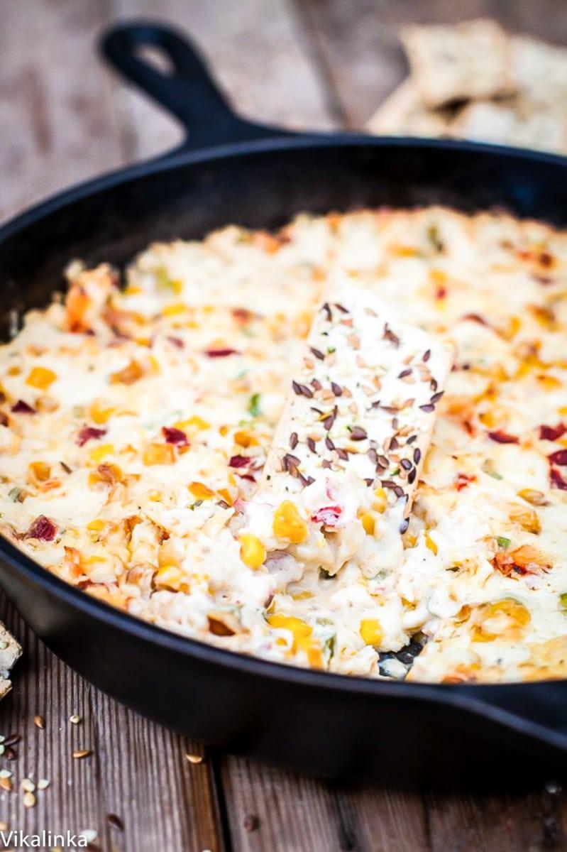 Hot Corn and Crab Dip