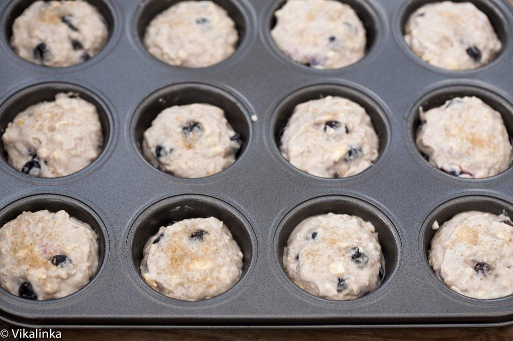 Lemon Blueberry Muffins (prep)