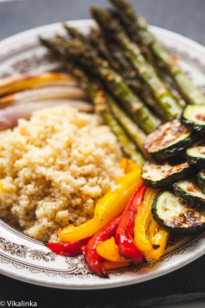 Roasted Vegetables and Couscous Bowl