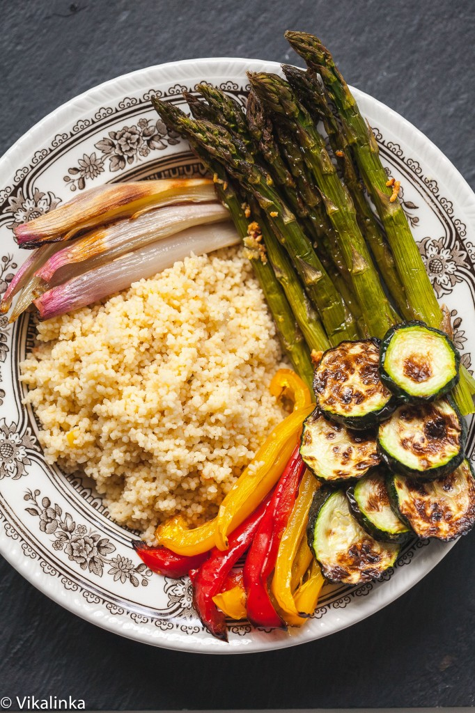 Roasted Vegetables and Coucous Bowl