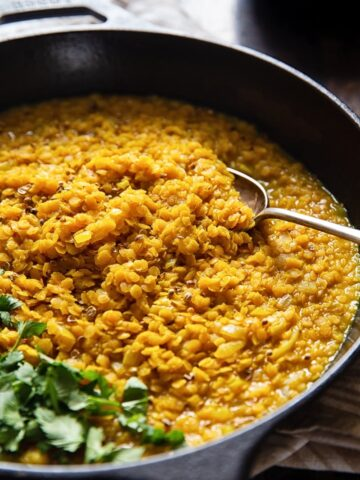 Nepalese Red Lentil Dahl