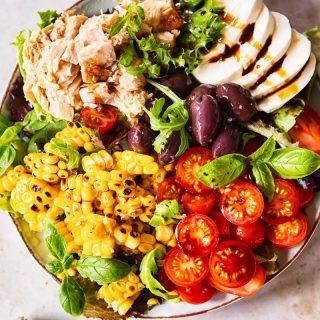 Italian Corn and Tuna Salad