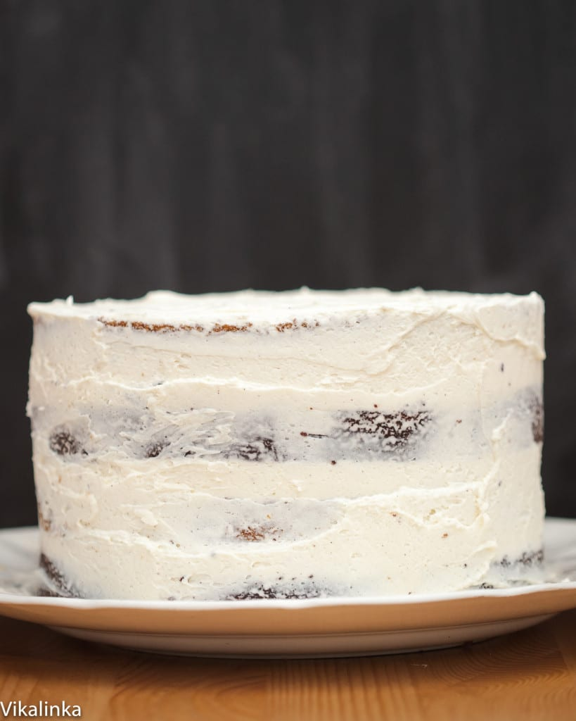 This cake will be the most beautiful finish to your holiday dinner.