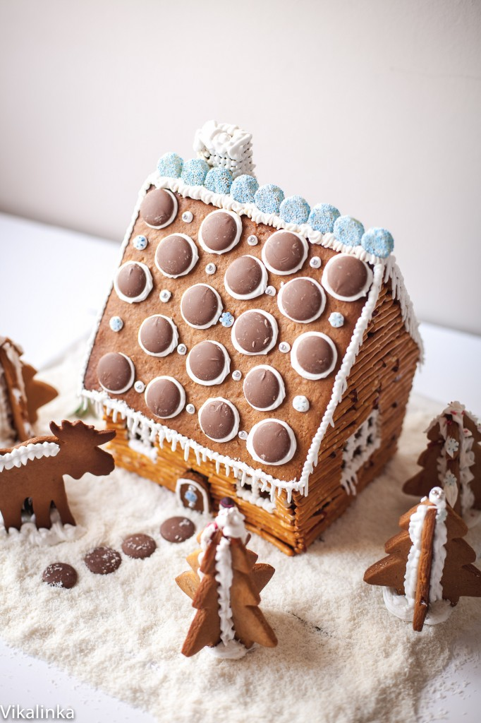 All tips and tricks for making a gingerbread house from scratch.