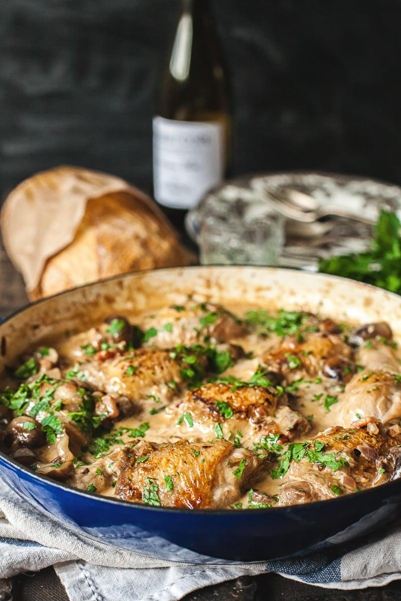 Coq au Chardonnay
