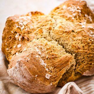 Honey Buckwheat Soda Bread