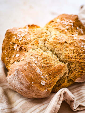 Honey Buckwheat Soda Bread