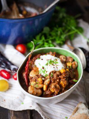 Texas-style chilli recipe