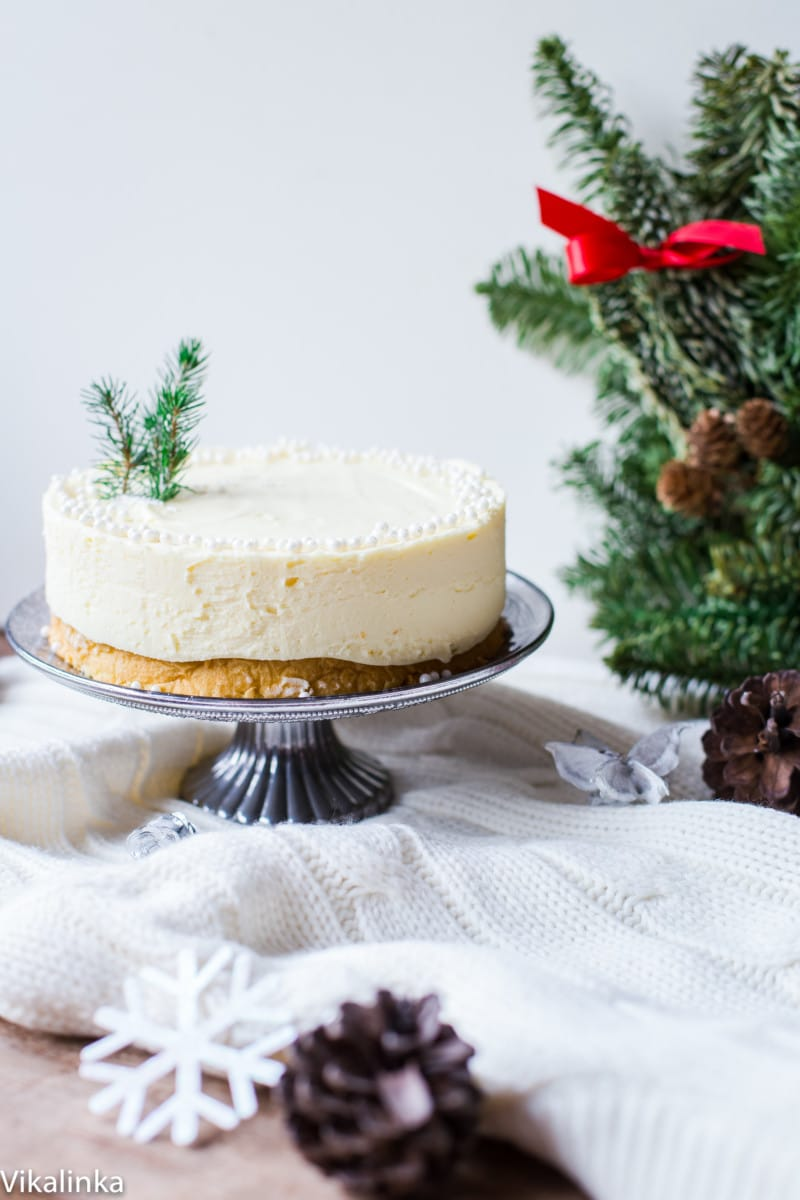 White Chocolate Truffle Cake that will become the talk of the table at any dinner party!