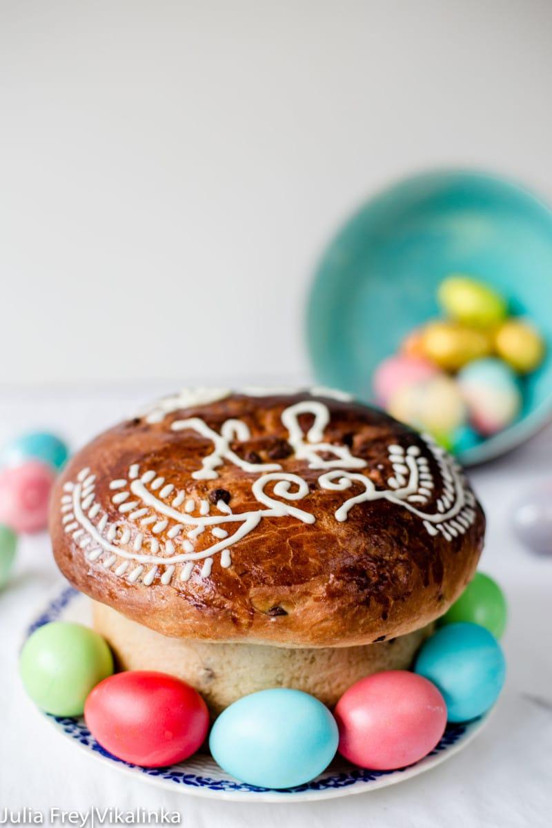 Russian Easter Bread Kulich