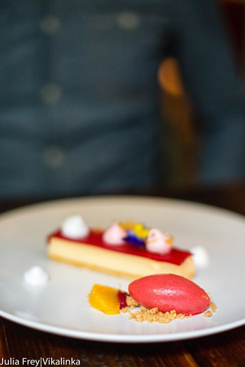Dining out at Caxton Grill, London