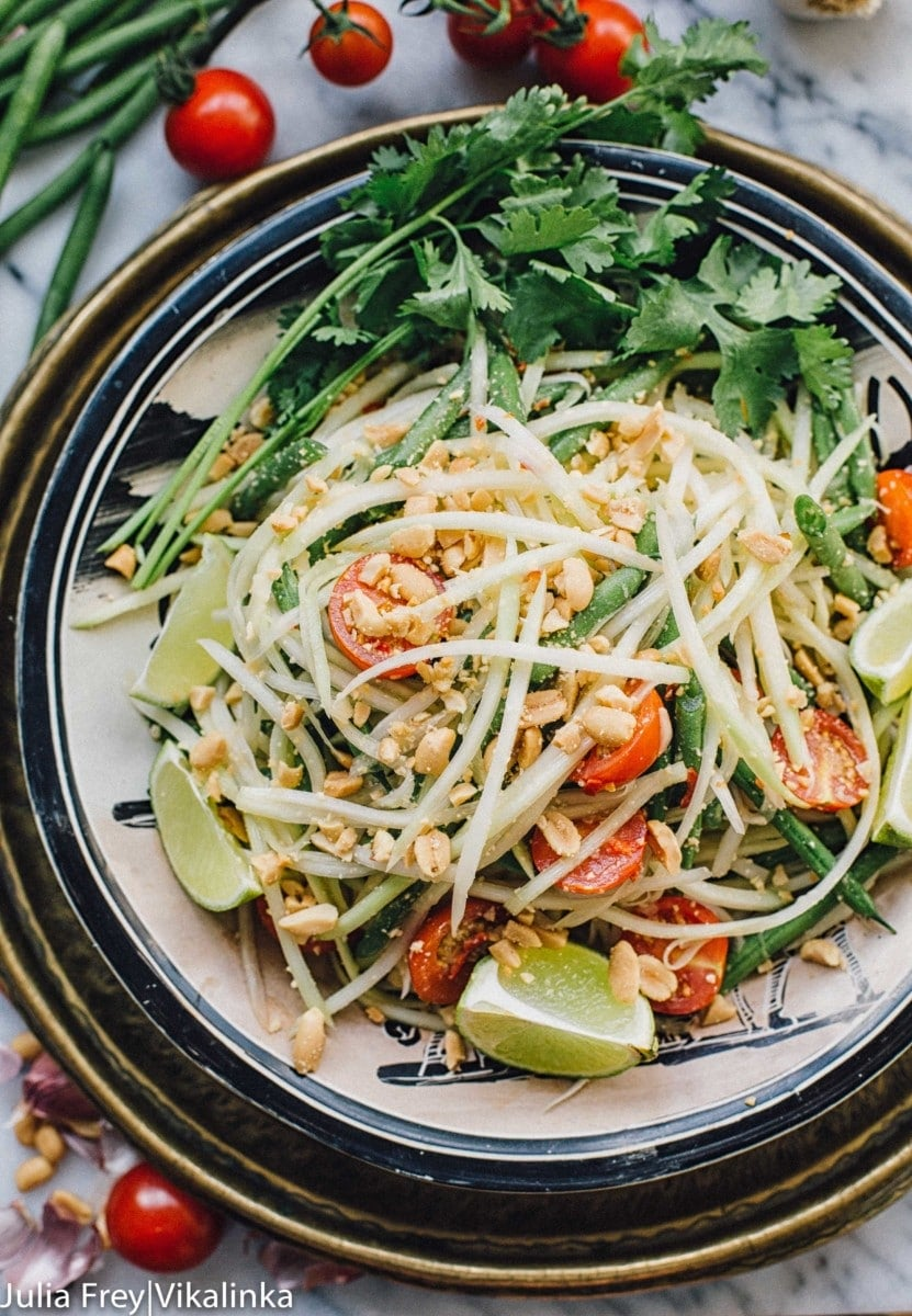 Thai Green Papaya Salad is your next BBQ hit!