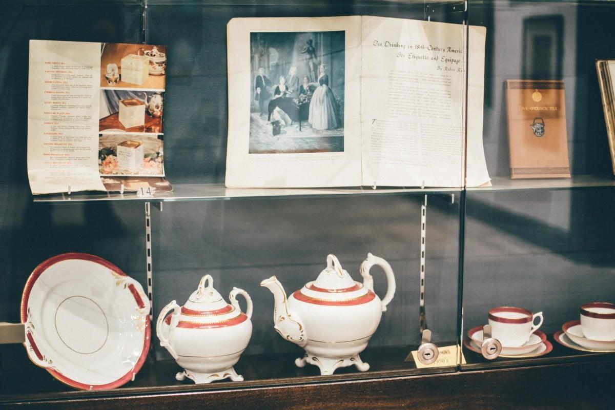 Twinings Tea Tasting on the Strand