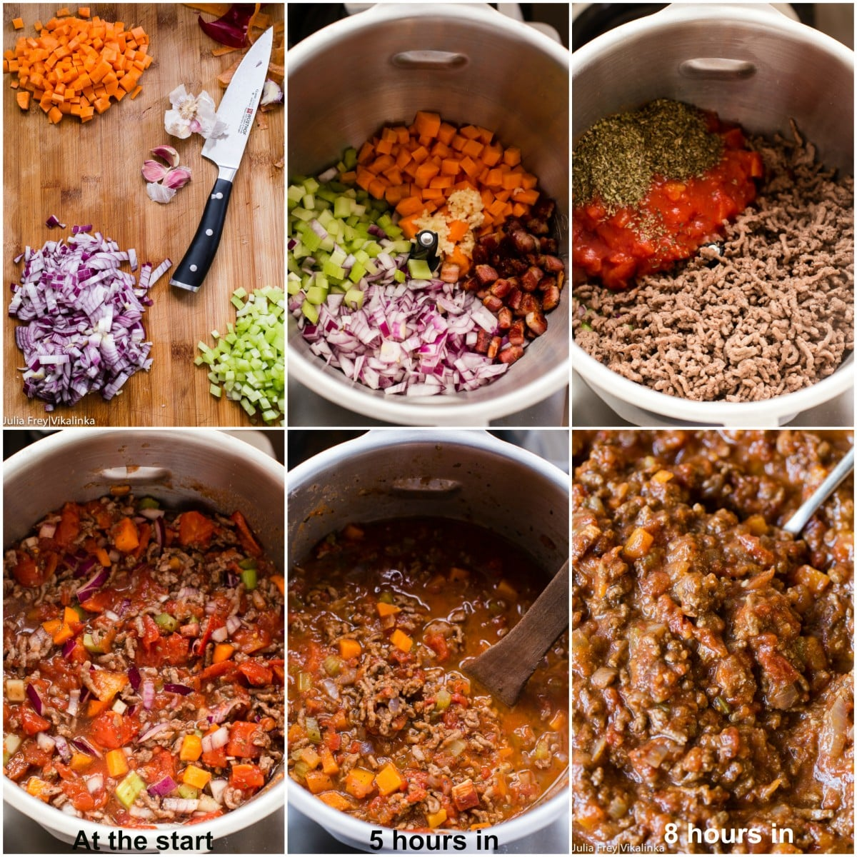 Slow CookerBeef Bolognese sauce pic