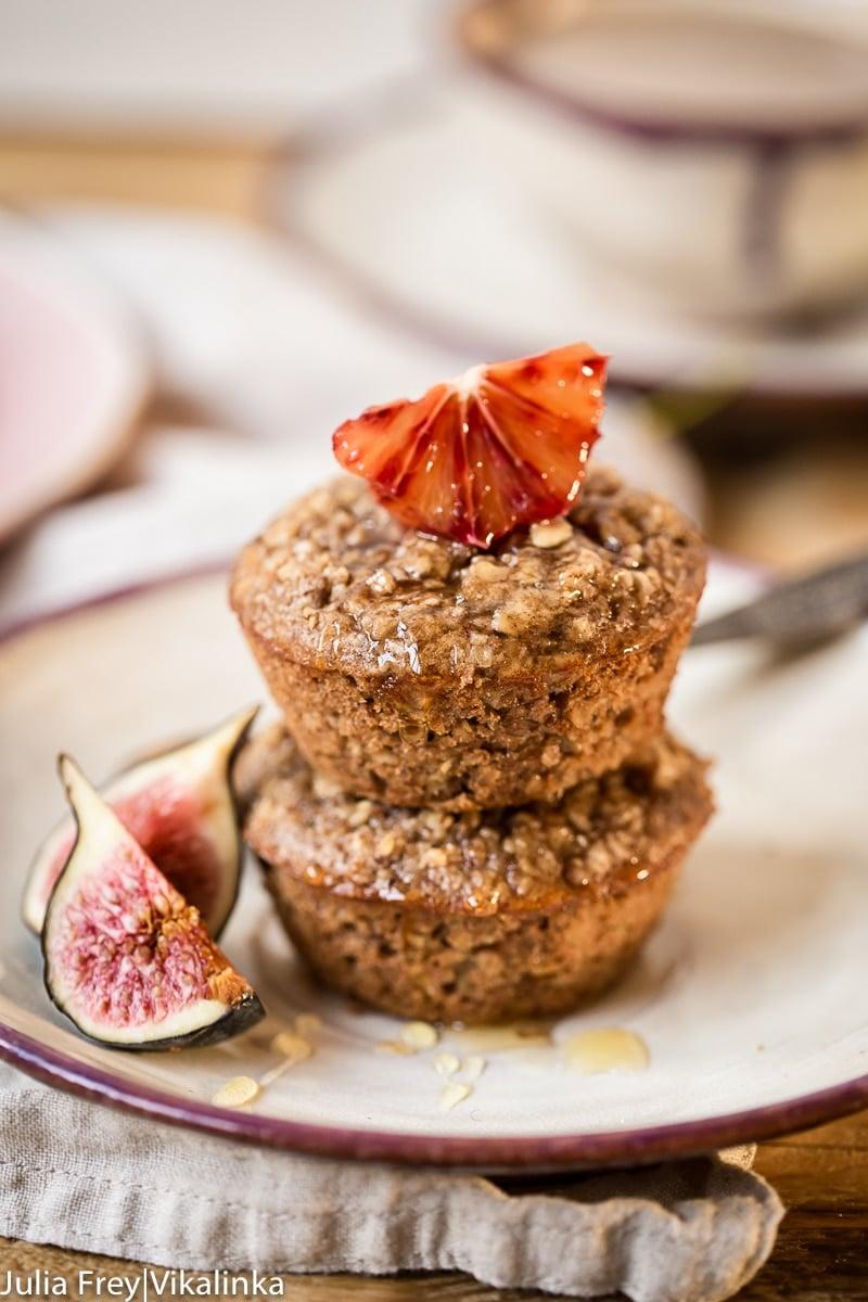 Flourless Oatmeal Muffins