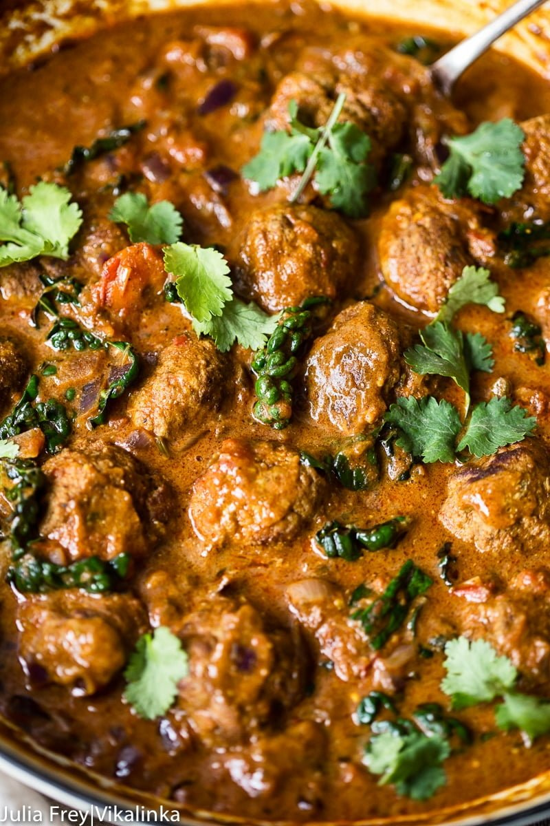 Indian Spiced Meatballs in Curry Sauce pic