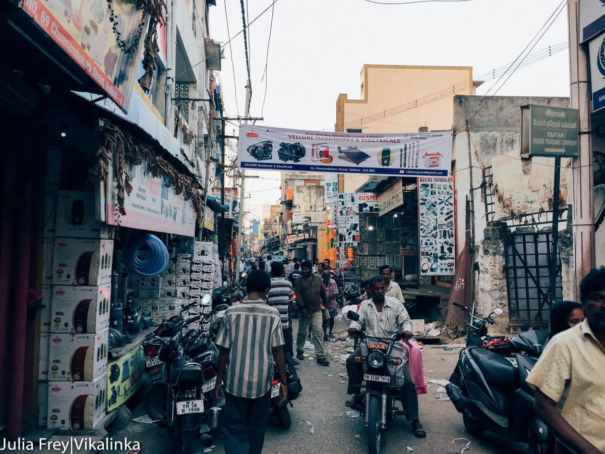 Travelling through India