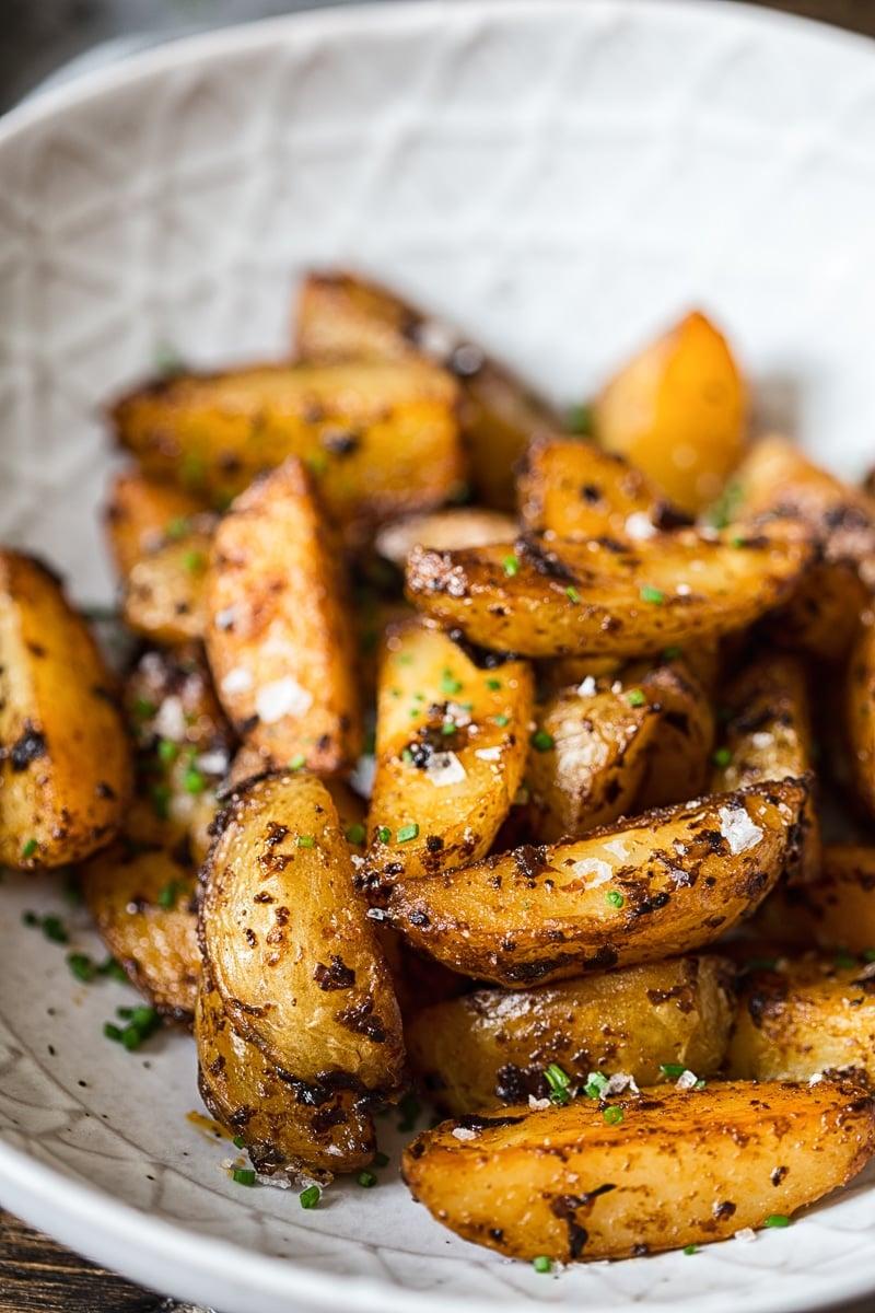 Chipotle Mayo Roasted Potato Wedges