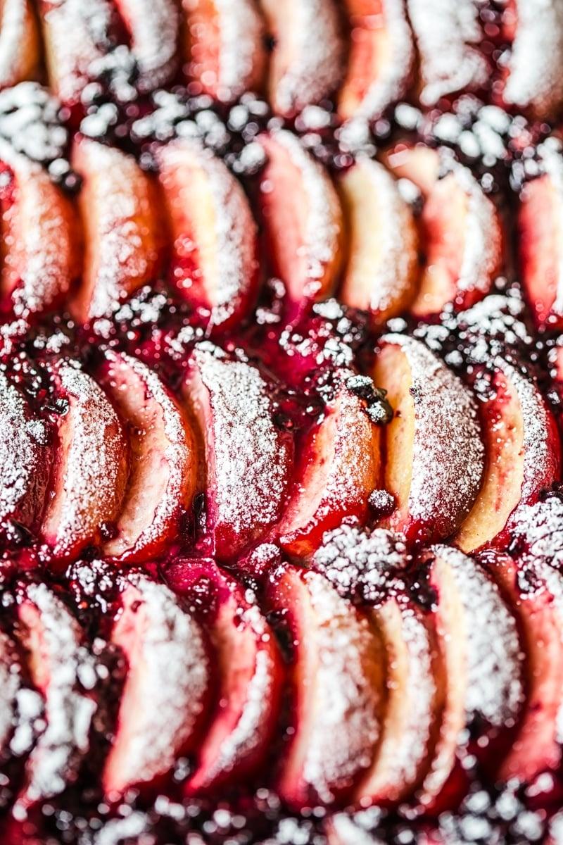 Peach and Blackberry Tart
