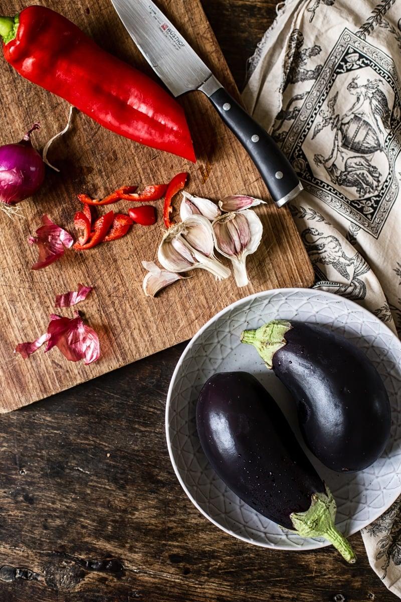 Russian Eggplant Caviar