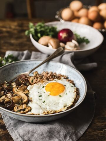 Savoury Buckwheat Breakfast Bowl