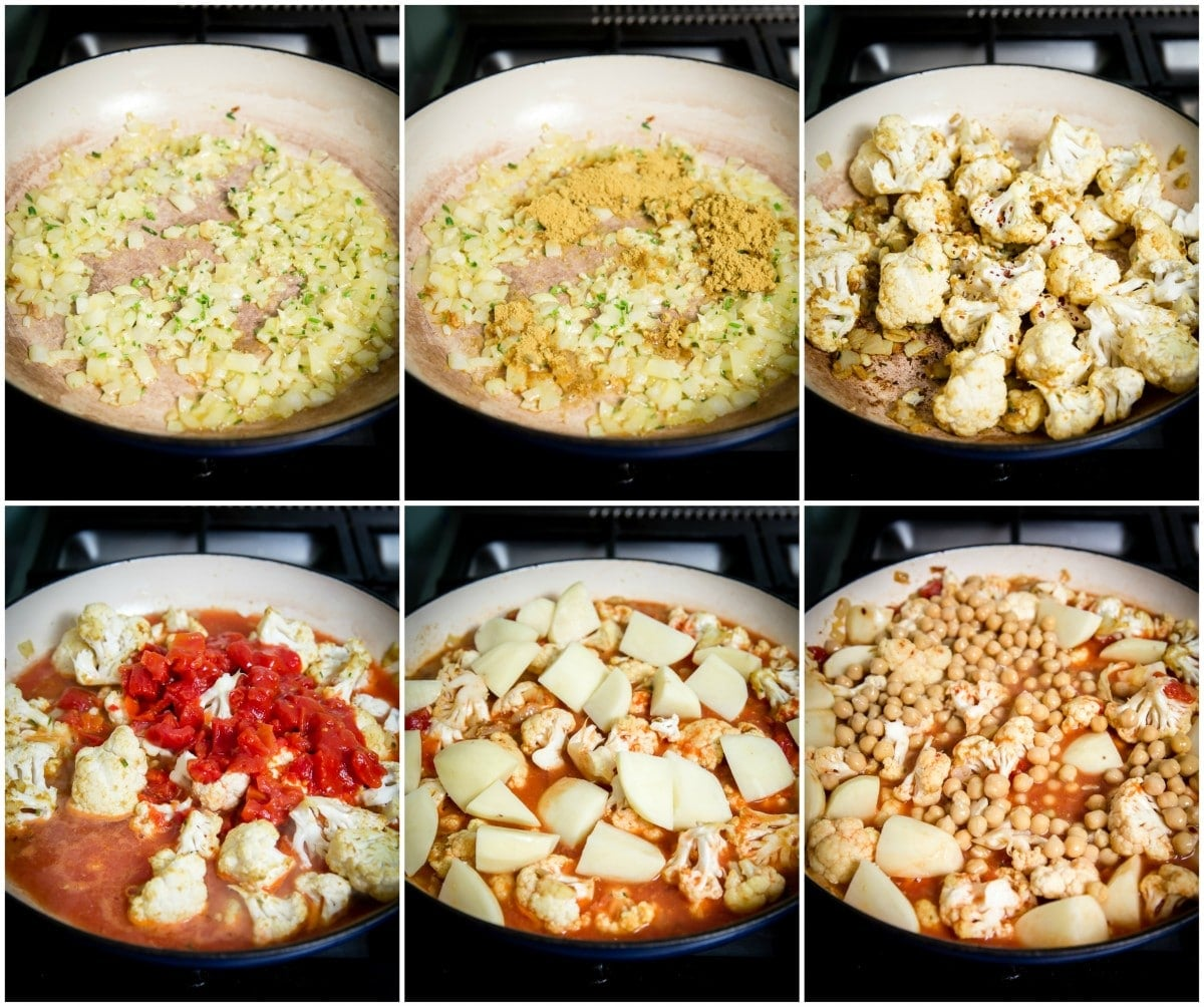 "Simplified Cauliflower and Potato Curry ""Aloo Gobi"""