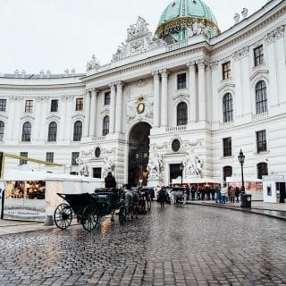 View outside of Hofburg