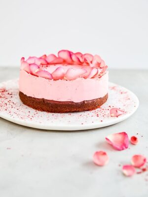 Be My Valentine Red Velvet Truffle Cake