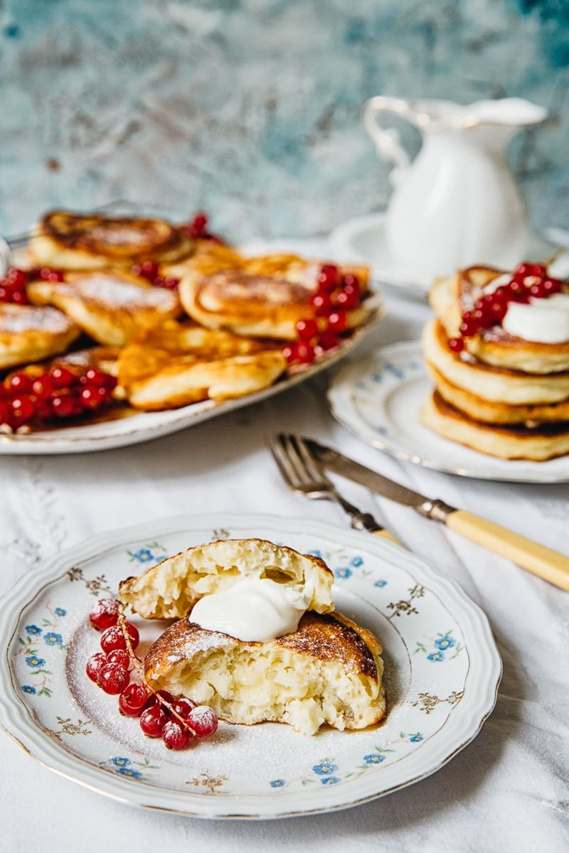 Kefir Pancakes Oladi