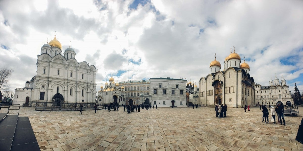 A Visitors Guide to Moscow, inside Kremlin