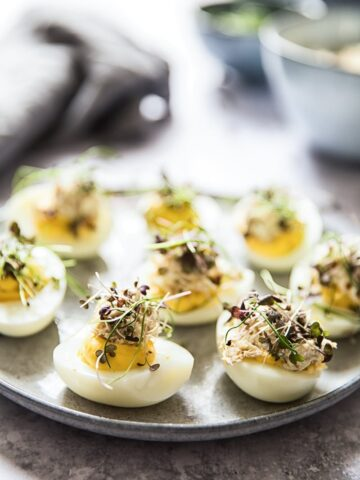 Double Decker Devilled Eggs
