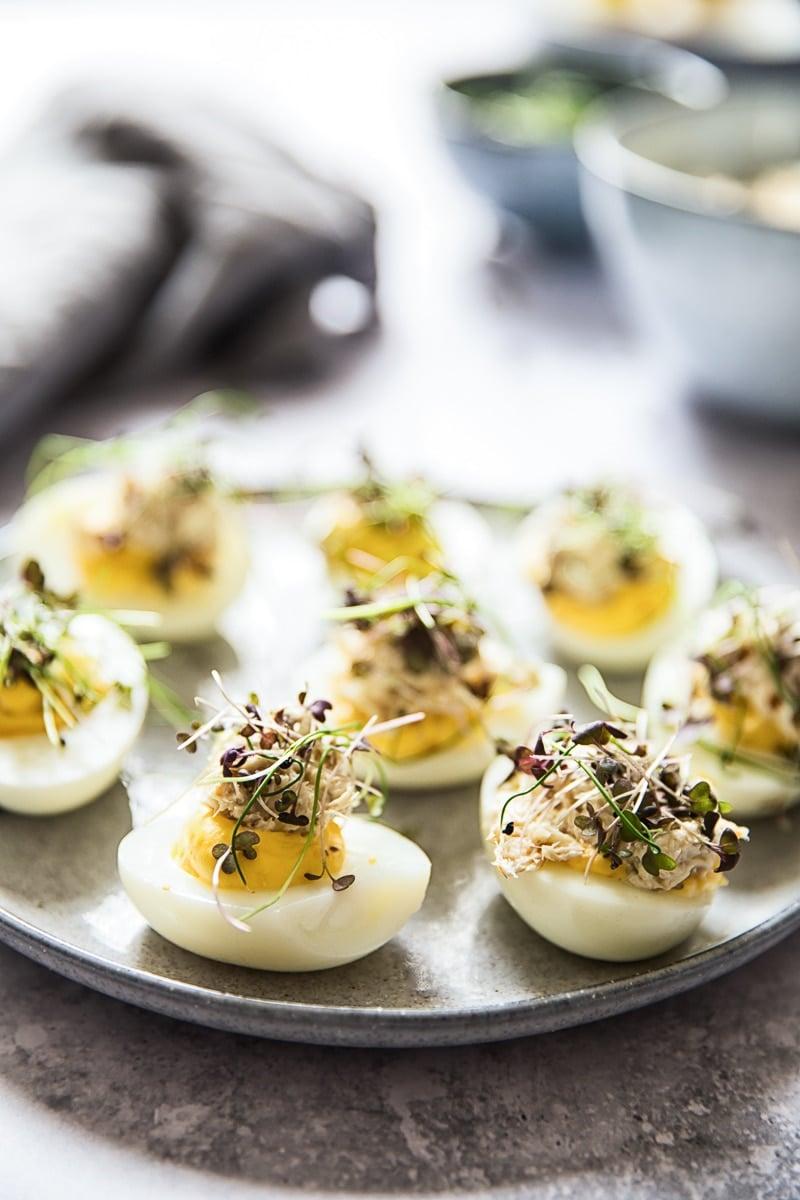 Double Decker Devilled Eggs