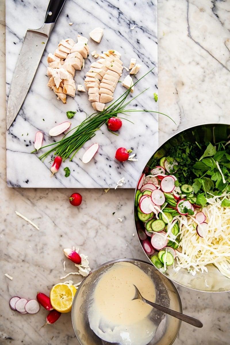 Best Keto Cabbage Salad Recipe #keto #cabbagesalad