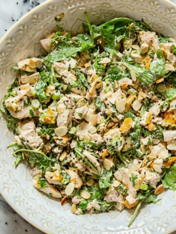 Coronation Chicken Salad #chickensalad #britishfood