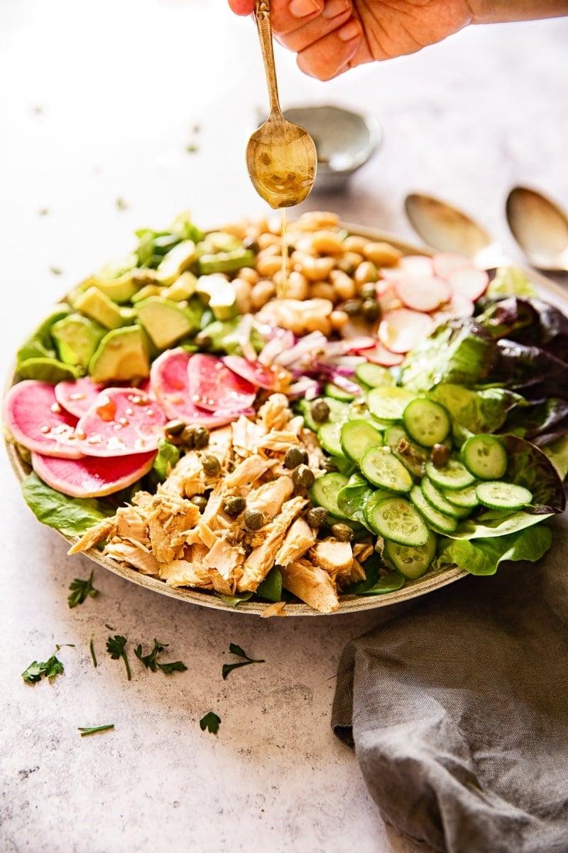 Healthy Tuna Salad Recipe #tunasalad #Italiansalad