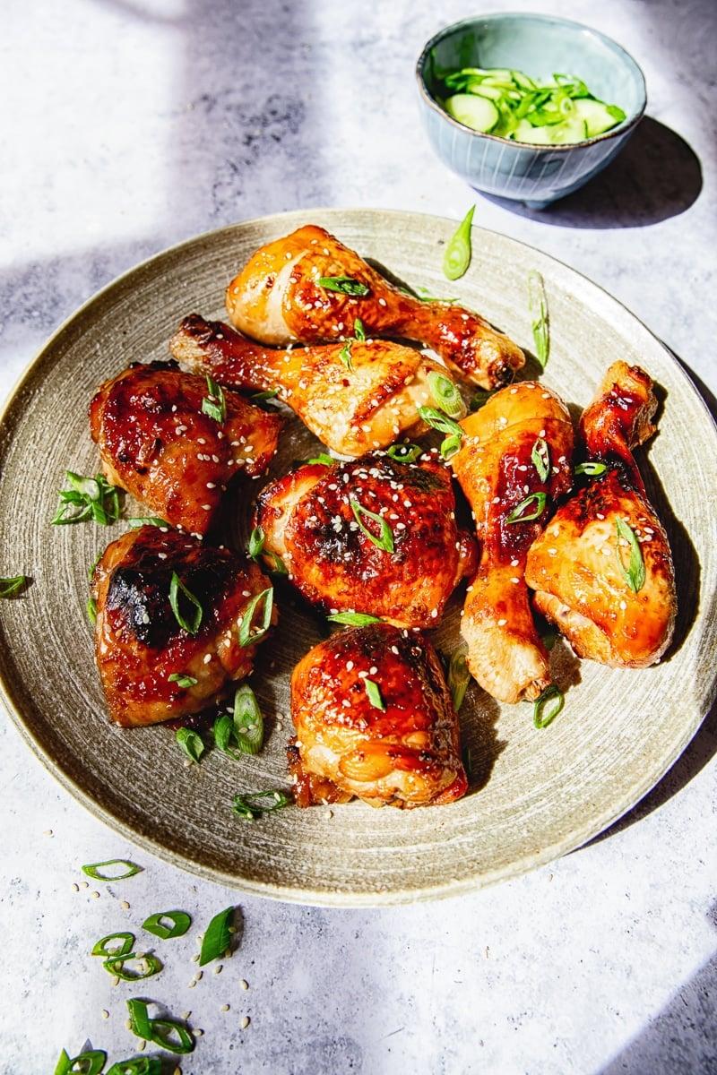Sticky Asian Chicken Recipe #asianchicken