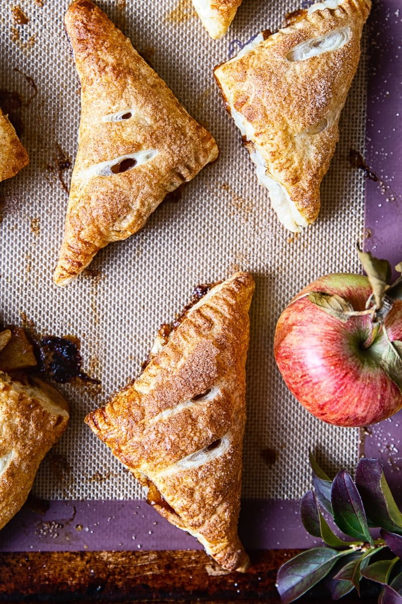 Apple Turnovers #pastry #puffpastry