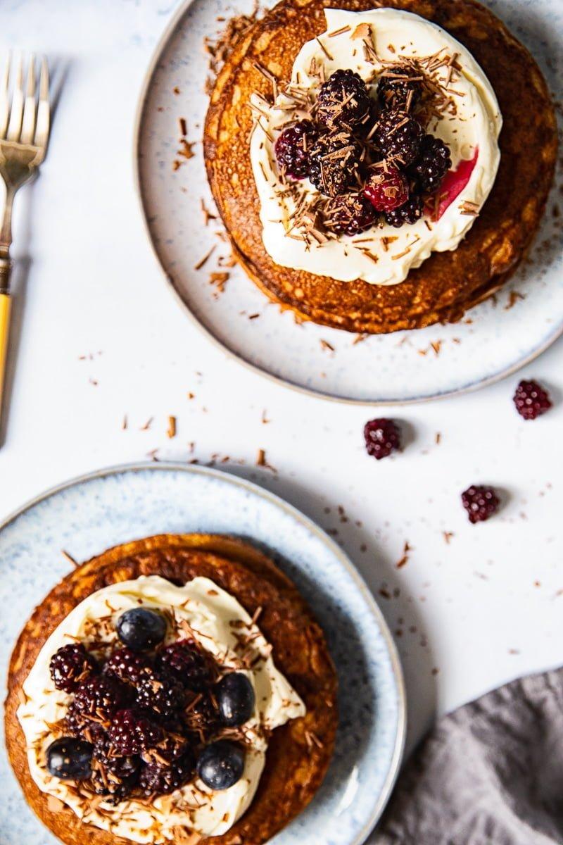Buckwheat pancakes #glutenfree