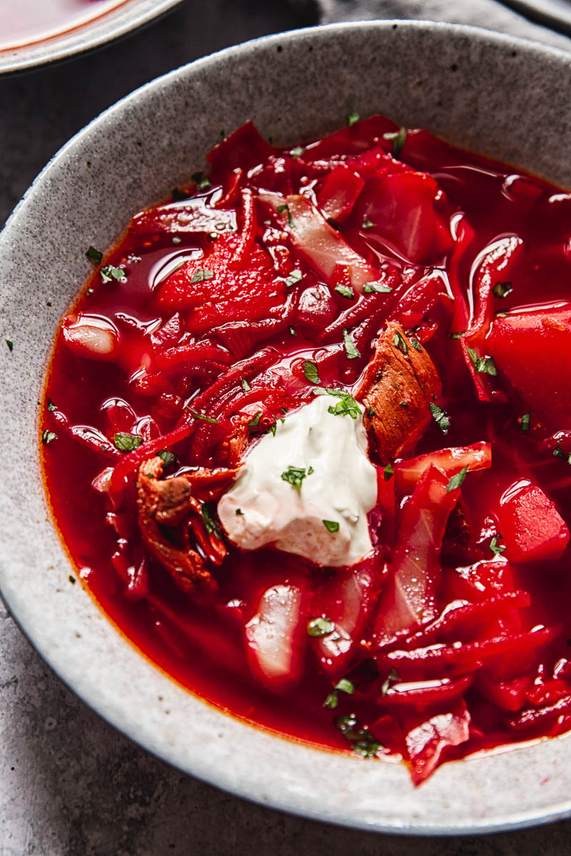 Borscht Recipe Iconic Soup Made Easy Vikalinka