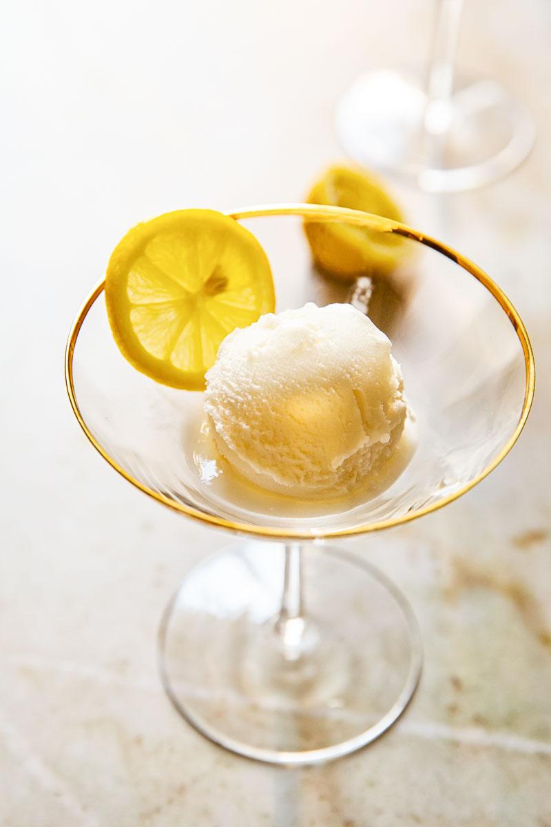 Lemon Prosecco Float