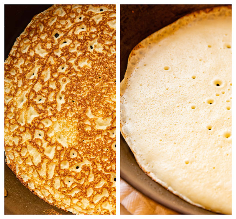 Blini process images