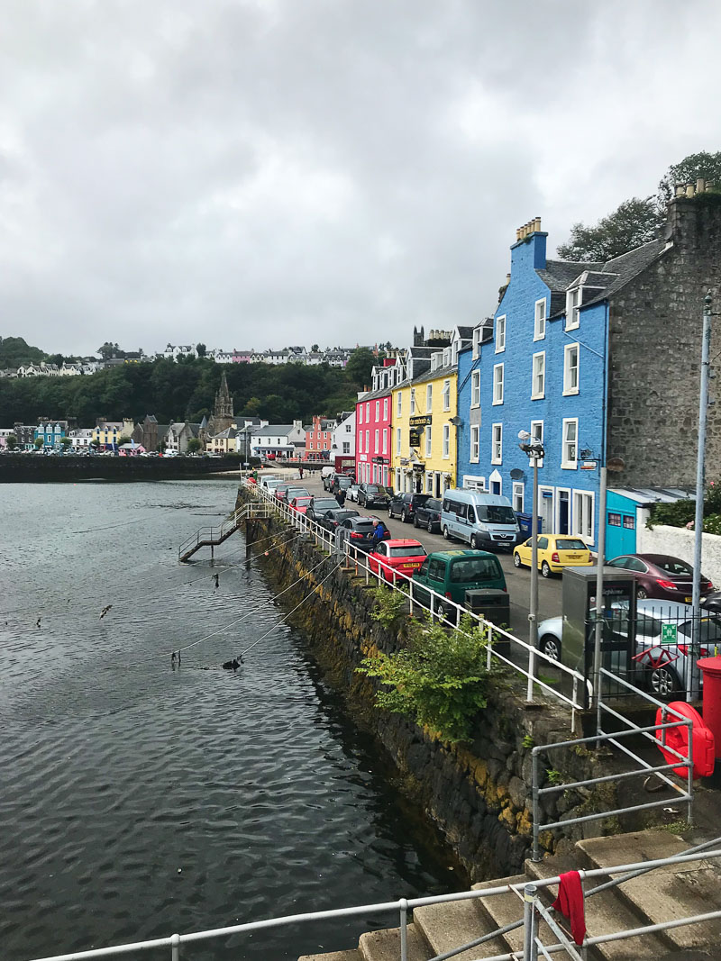 view of Tobermory, Scotland