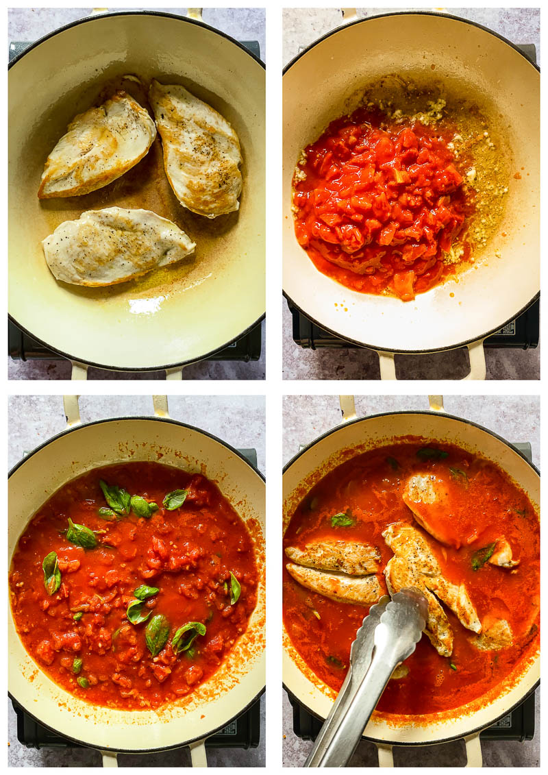 process images for chicken arrabiata